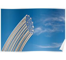 Gleaming Sculpture Poster