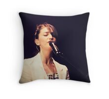 """I'm already out of foolproof ideas so don't ask me how to get started, it's all uncharted"" Throw Pillow"