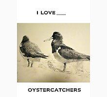 Pair of Pied Oystercatchers, Shoalhaven River Unisex T-Shirt