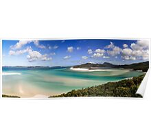 Whitehaven beach panorama Poster
