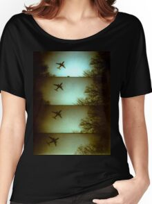 Lomo Plane Women's Relaxed Fit T-Shirt