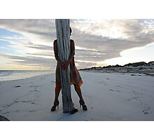 eucla jetty Photographic Print