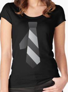 NeckTie Women's Fitted Scoop T-Shirt