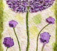 Cheerful Chives by AngieDavies
