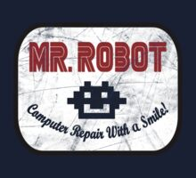 Mr Robot - Computer Repair With A Smile One Piece - Short Sleeve