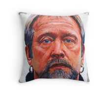 I saw my father's eyes Throw Pillow