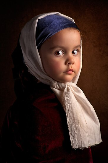 Girl without an earring by Bill Gekas