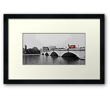 Putney Bridge Framed Print