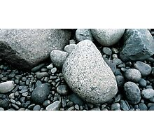 Rocks in Northern Sweden Photographic Print
