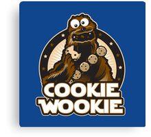 Cookie Wookie Canvas Print