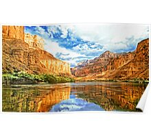 Canyon River Poster