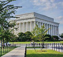 Lincoln Memorial, Washington DC. by AnnDixon