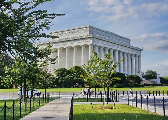 Lincoln Memorial, Washington DC. by AnnDixon