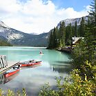 lake emerald,canada by milena boeva