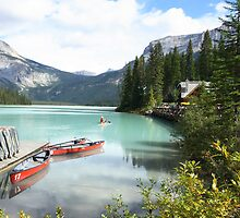 lake emerald,canada by milena boeva