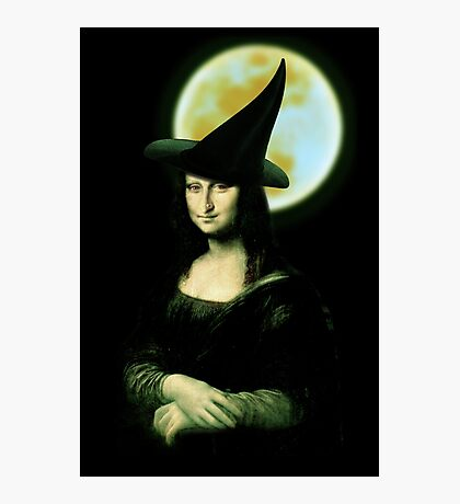 Mona Lisa...Witchy Woman Photographic Print