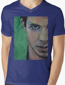 Fighter Mens V-Neck T-Shirt
