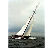 Sailboat racing Photographic Print