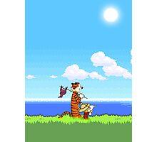 Calvin and Hobbes 16 Bit Photographic Print