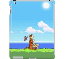 Calvin and Hobbes 16 Bit iPad Case/Skin