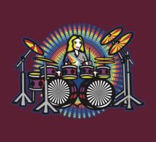 Girl Drum Power by fineline