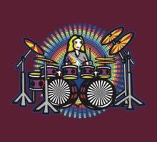 Girl Drum Power by fineline