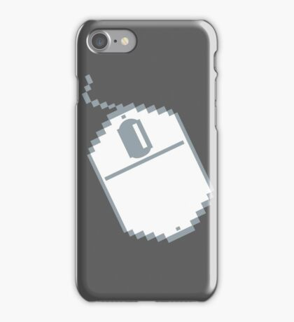 Digital computer mouse iPhone Case/Skin