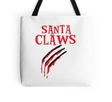 Santa Claws with scratch Tote Bag