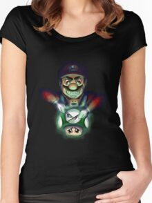 Silence of the 'Shrooms Tee & Hoodie Women's Fitted Scoop T-Shirt