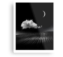 The Crescent Moon Metal Print