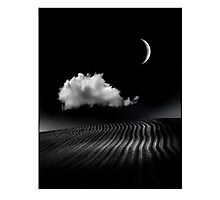 The Crescent Moon Photographic Print