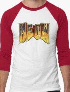 MEOW Men's Baseball ¾ T-Shirt