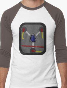 Fluxing Through Time Men's Baseball ¾ T-Shirt