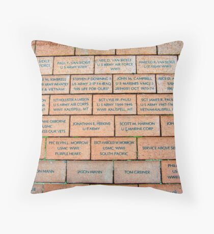 Never Forget 4 Throw Pillow