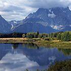 teton mountain by milena boeva