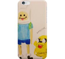 Jake and Finn by WRTISTIK iPhone Case/Skin