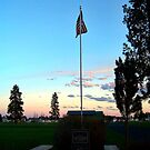 Old Glory Dusk (Veteran's Memorial) by rocamiadesign