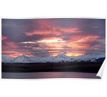Tekapo Sunset Poster
