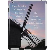 The name of the Lord is to be praised Psalm 113:3 iPad Case/Skin