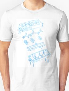 Engineering sketch Unisex T-Shirt
