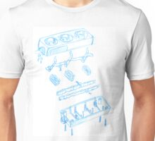 Engineering sketch Unisex T-Shirt