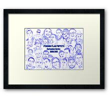 PPP Caricature Series 2010/1011 Framed Print