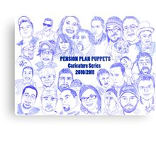 PPP Caricature Series 2010/1011 Metal Print