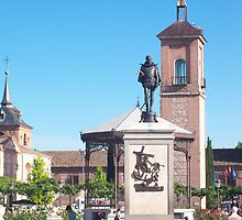 Cervantes Plaza, Alcala de Henares, Madrid, Spain by MONIGABI