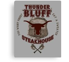 Thunderbluff Steakhouse! Canvas Print