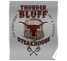 Thunderbluff Steakhouse! Poster