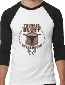 Thunderbluff Steakhouse! Men's Baseball ¾ T-Shirt