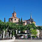 Judge's Chapel, Cervantes Plaza, Alcala de Henares, Madrid, Spain by MONIGABI
