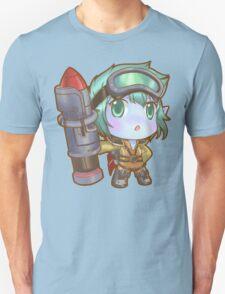 Cute Rocket Girl Tristana - League of Legends T-Shirt