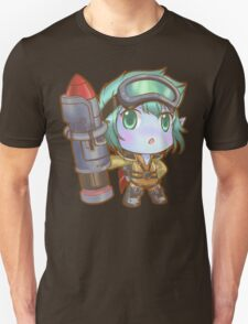 Cute Rocket Girl Tristana - League of Legends T-Shirt